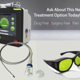 Peralas- Affordable 980nm Diode High Intensity Laser Therapy Equipment Back Treatment