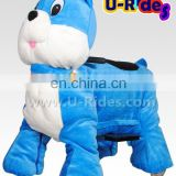 Blue mouse walking pet animal balloons