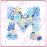 Aidocrystal Customized Flower Baby Name Nursery Wall Art Hanging Floral Letter