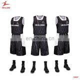 2017 Top Custom Mesh Reversible Basketball Jersey Cheap Basketball Team Wear Reversible Sublimated Reversible Basketball Jerseys