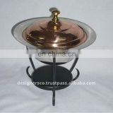 Copper Food Warmer Chafing Dish