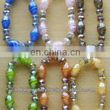 Fashion jewelry glass bead jewelry bracelets manufacturer, Fashion jewellery glass beads bracelets exporter