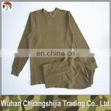 long sleeve military underwear