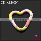 small heart shape aluminum carabiner CD-KLH004
