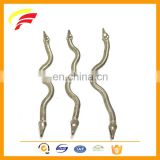 factory price decorative small stainless steel flat snake chain for pants