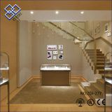 Customized indoor jewellery display showcase cabinet for jewelry shop