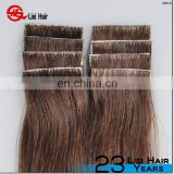 Tape In Brazilian Remy Human Hair Skin Weft Tape Hair Extension