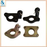 Mechanical metal parts precision cast steel hydraulic valve bracket parts
