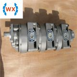 705-58-47000 HYDRAULIC GEAR PUMP FOR WA600-1 Quadruple pump LOW NOISE pump assy