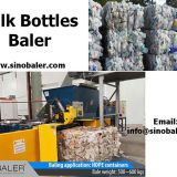 Milk Bottles Baler Machine