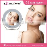 3x Magnifying Lighted Standing Makeup Mirror