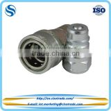 ISO 5675 female threaded hydraulic quick coupling ball valving design,female / male quick coupler