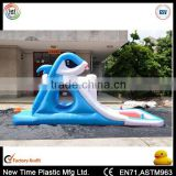 inflatable animal shape water slide for child