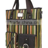 neutra Female Shoulder bag vertical stripes pocket lady handbags tide restoring ancient ways, 2046