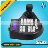 Intelligent 3D Mini joystick keyboard controller for security PTZ Dome Camera with RS485 LCD menu