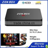 2016 Google Android 5.1 Firmware Update Amlogic S905 Zen Box Mini M8S IPTV Set Top Box                                                                                         Most Popular