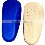 3/4 Length pigskin Orthotic Insole POLIYOU foot support insole