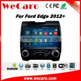 Wecaro WC-FE1018 10.2 inch android 4.4/5.1 Car DVD gps touch screen for ford edge 2012 + With Wifi and 3G Playstore