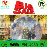8ft, 10ft, 13ft, 16ft outdoor air blown inflatable snow globe for Christmas