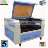 cloth or leather cotton fabric laser cutting/engraving machine