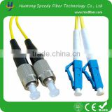 High quanlity for 3m 9/125 fiber cable LC-FC SM fiber optic patch cord for communication