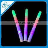 wholesale logo printed colorful led cotton candy stick