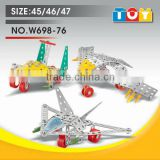 Little fighter plane DIY models metal and plastic toy