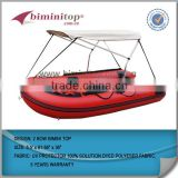 Inflatable boat 2 bow bimini top covers UV protector water proof