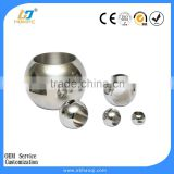 Valve ball for steel or brass valves