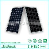 EverExceed Monocrystalline 50 watt small size solar panel