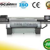 DOCAN world popular large format UV Flatbed Printer with konica KM1024-14PL print head and ricoh Gen5-7pl print head option