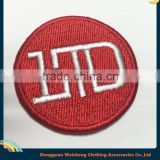 Round embroidered patch for LTD