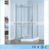 French 3 Sided Small Shower Enclosure Screen
