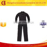 High Quality Permanent flame retardant & Anti-Static Gray Coveralls Chinese Manufacuture