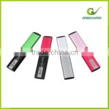 Green Vaper newest high technology rechargeable electronic cigarette Gas Gum hot sale in Alibaba at factory price