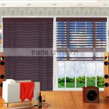 Alibaba china supplier door glass inserts wavy bamboo blinds