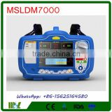 MSLDM7000-4 Biphasic Defibrillator Monitor/Defibrillator Price with SPO2 ECG and NIBP