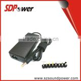 universal 18.5V 3.5A 19V2A 19V3.4A 19V 65W for latpot & notebook switching desktop power supply adapter