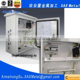 XAX12DB OEM ODM customized degreasing phosphoric polyester powder coat zinc plating steel portable power distribution box