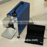 2014 great promotion!FACTORY! 10% OFF portable fiber laser marking machine on metallic materials