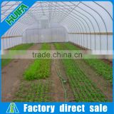 PE, hot galvanized steel with 275g/m2,PE Material and Small Size Galvanized Steel Frame Farm Vegetable Single Span Greenhouses
