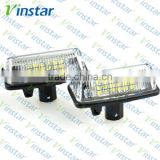 Led license plate lamp for Toyota Crown Error free SMD led number plate lamp car accessories