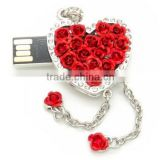 hot sale gift for valentine's day custom usb flash memory, 64gb usb flash drive for girls