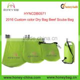 2016 Custom Color Dry Bag Waterproof Beach/Ocean Pack Backpack Beefy Scuba Bag                                                                         Quality Choice