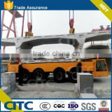 Multi axis self-propelled modular trailer for bridge girder transporter / bridge beam girder carrier vehicle