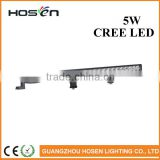 "Super Brightness Single row 5W each 29"" 105W Headlight Light bar /ATV 4x4 LED light bar 9-32V DC"
