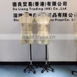 Half body head tailoring male mannequins for sale