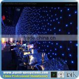 professional led star fabric curtain decoration