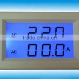 Hot selling Dual LED AC 80-300V 100A Digital AC Voltmeter and Ammeter LCD Panel voltage current panel Meter