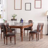 Stacking cheap French style breakfast table and chair set